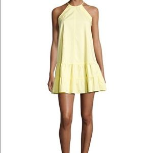 Rebecca Taylor Yellow halter dress